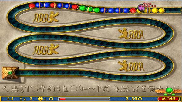 埃及祖玛 幻想小游戏(Luxor) 英文免安装版截图1