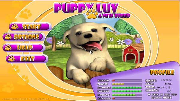 爱心宠物狗 幻想小游戏(puppyluy) 英文免安装版截图0
