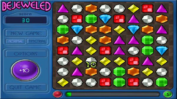 宝石迷阵1 幻想游戏(bejeweled) 英文免安装版截图2