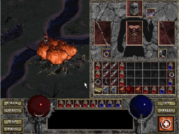 暗黑破坏神地狱火(Diablo Hellfire)硬盘版截图2
