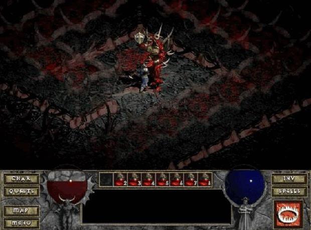 暗黑破坏神地狱火(Diablo Hellfire)硬盘版截图1