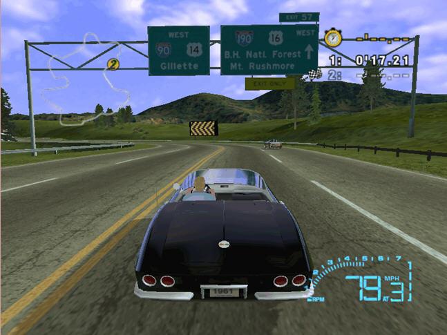雪佛莱赛车(CORVETTE)硬盘版截图0