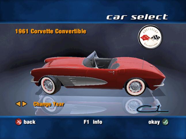 雪佛莱赛车(CORVETTE)硬盘版截图2