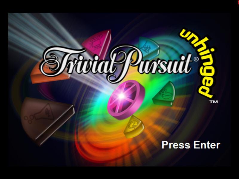 棋盘游戏(Trivial Pursuit Unhinged)硬盘版截图1
