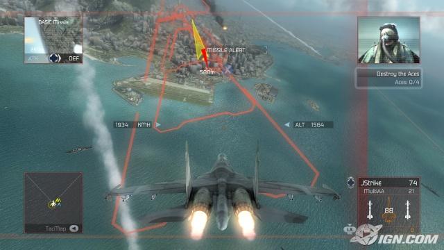 汤姆克兰西之:鹰击长空(Tom Clancy's H.A.W.X) 完美英文免安装版截图0