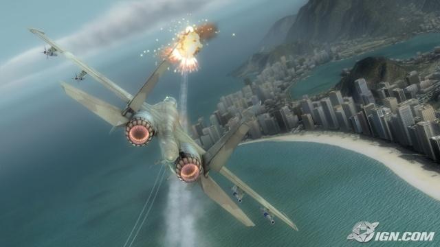 汤姆克兰西之:鹰击长空(Tom Clancy's H.A.W.X) 完美英文免安装版截图2