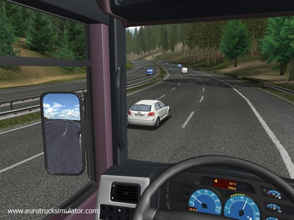 欧洲卡车模拟(Euro Truck Simulator)硬盘版截图3