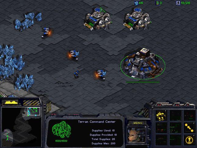 星际争霸1.07(StarCraft)1.07硬盘版截图0