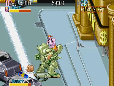 名将(Captain Commando) 街机游戏截图2