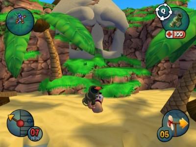 百战天虫3D(Worms 3D) 英文完整安装版截图0