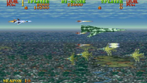 雌虎战机横版飞行射击截图0