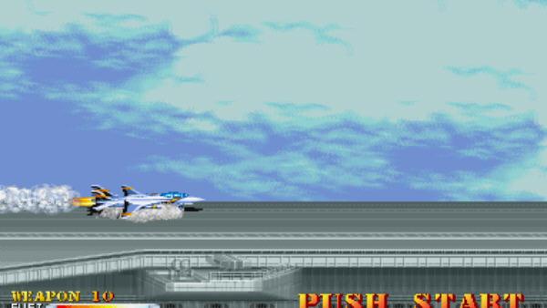 雌虎战机横版飞行射击截图1