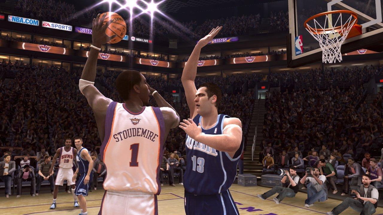 NBA LiVE 2008硬盘版截图1
