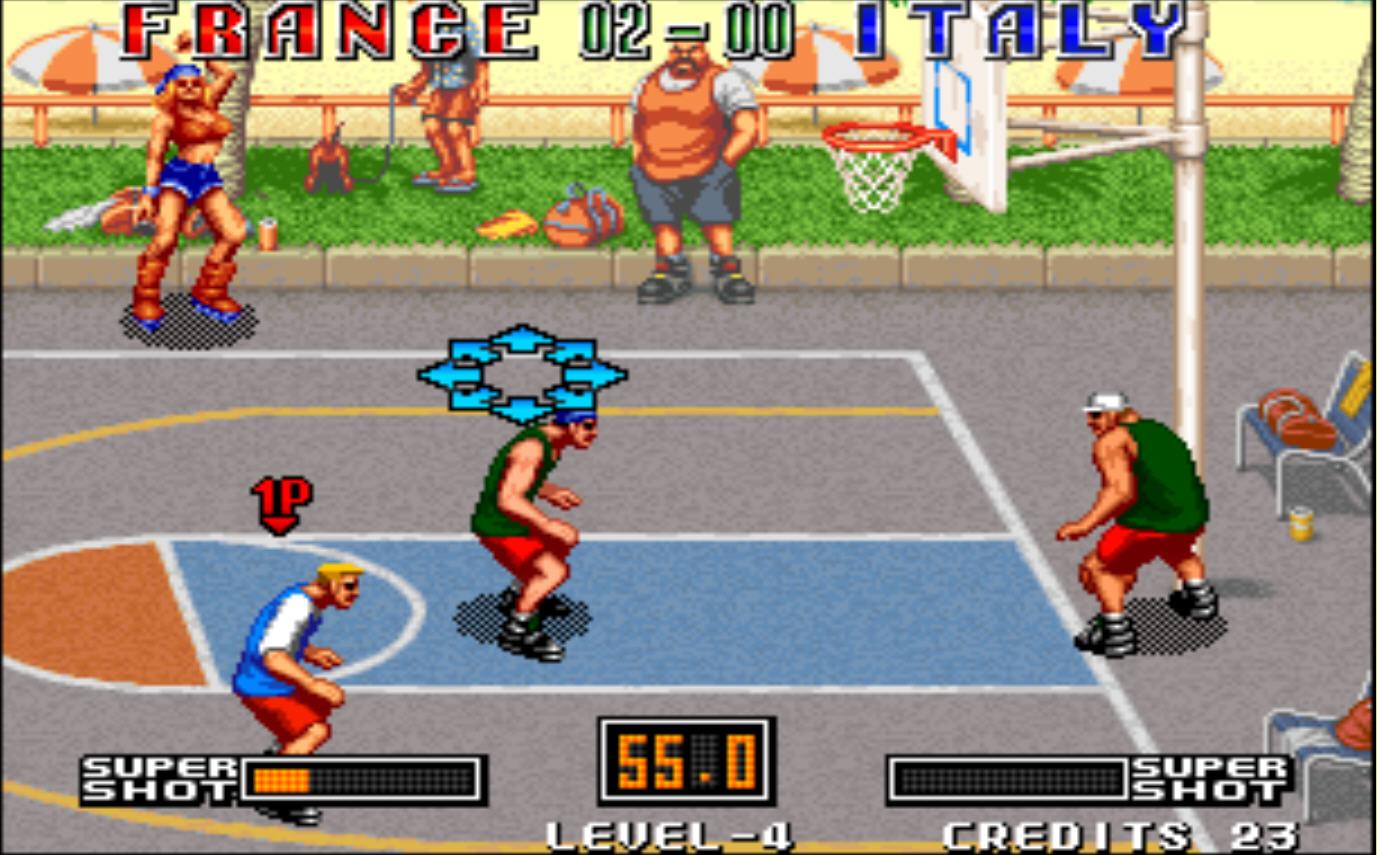 街头篮球街机版硬盘版截图1