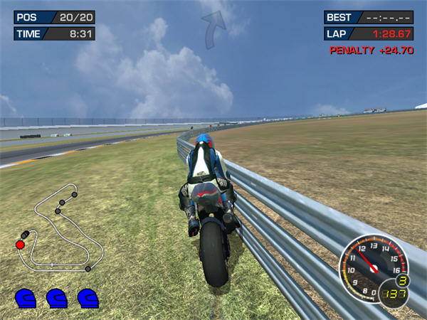 极品摩托:极赛车技3截图2