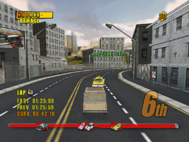 都市极限飚车(Urban Extreme)硬盘版截图3