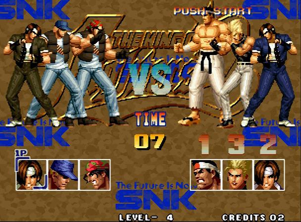 格斗之王95硬盘版截图2