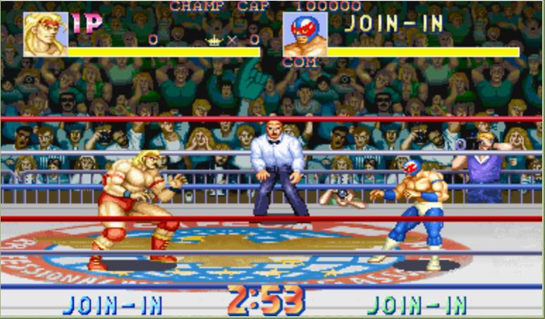 摔跤霸王(国际版)硬盘版截图0