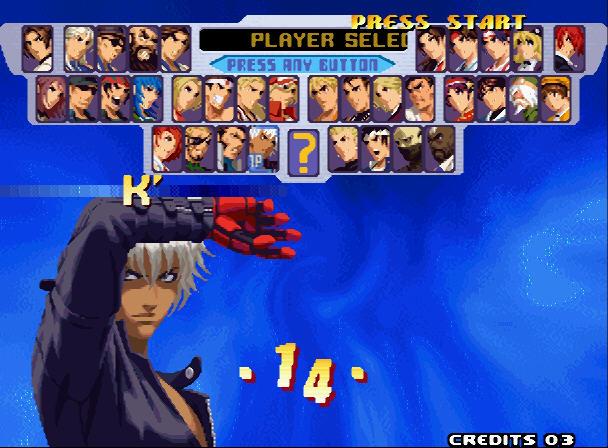 格斗之王2000硬盘版截图2