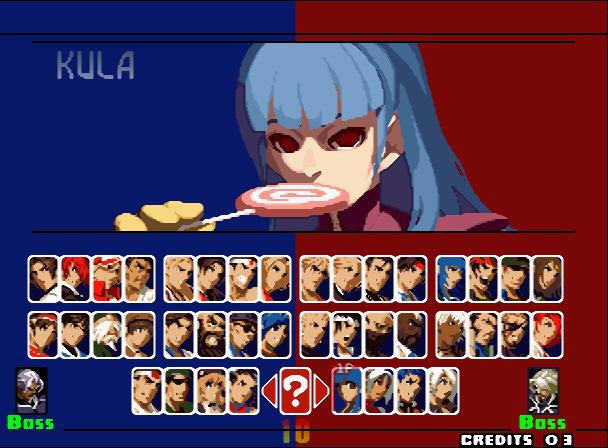 格斗之王2001卧虎藏龙(超级变态)硬盘版截图2