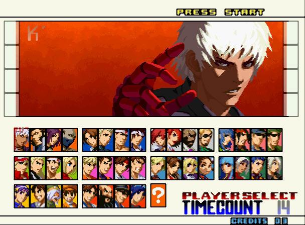 格斗之王2001硬盘版截图2