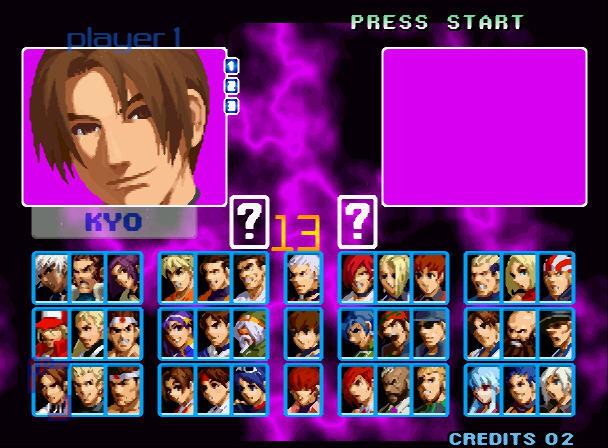 格斗之王2002超级变态硬盘版截图2