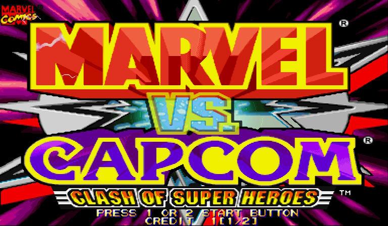 超级漫画英雄对卡普空硬盘版截图0