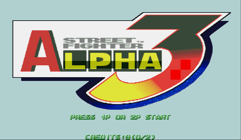 街霸Alpha3硬盘版截图0