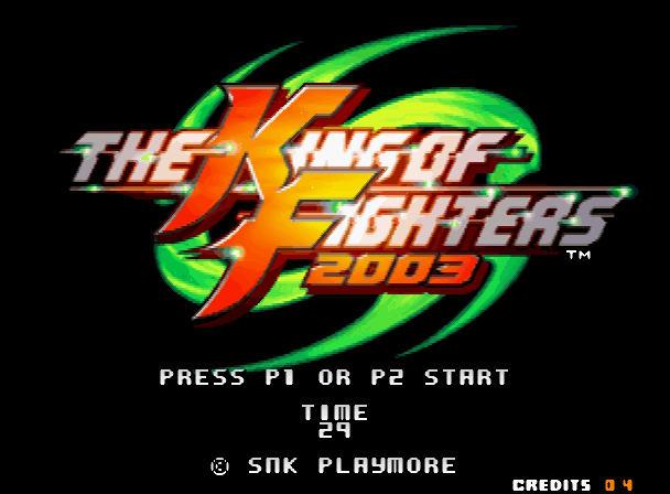 格斗之王2003硬盘版截图0
