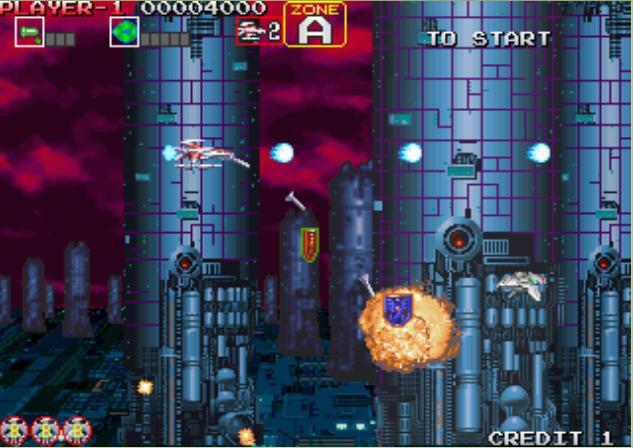太空战机外传:银鹰截图0