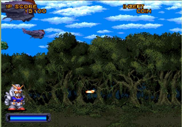 SD高达:Psycho Salamander 的威胁硬盘版截图0