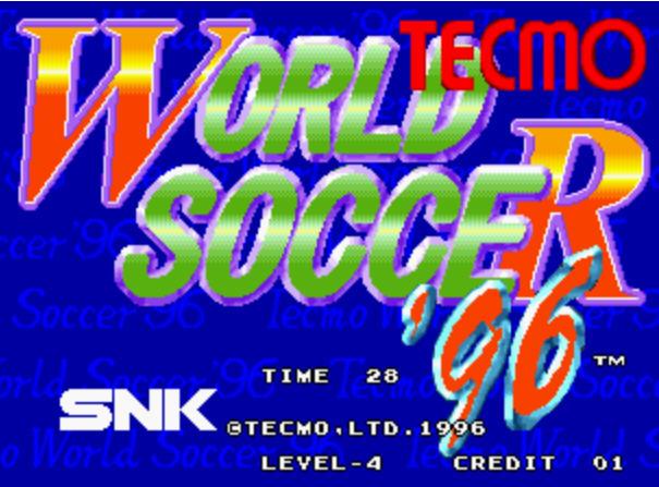 96Tecmo国际版杯足球硬盘版截图0