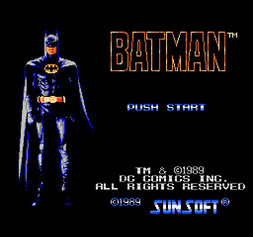 FC蝙蝠侠硬盘版截图0