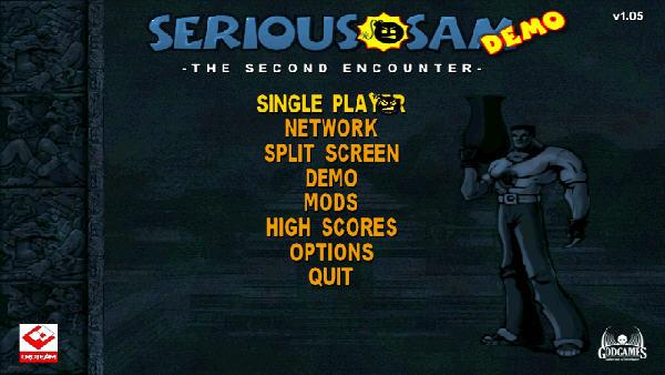 英雄萨姆第二次遭遇(Serious Sam: The Second Encounter) 英文免安装版截图0