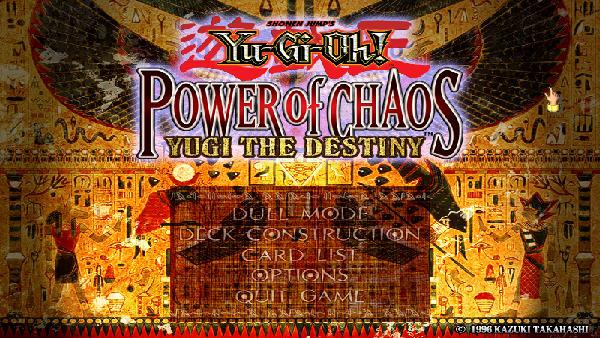 游戏王之混乱力量( Yu-Gi-Oh! : Power of Chaos-Joey the Passion) 英文免安装版截图0