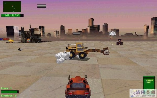TWISTED METAL 2 (PC GAME)