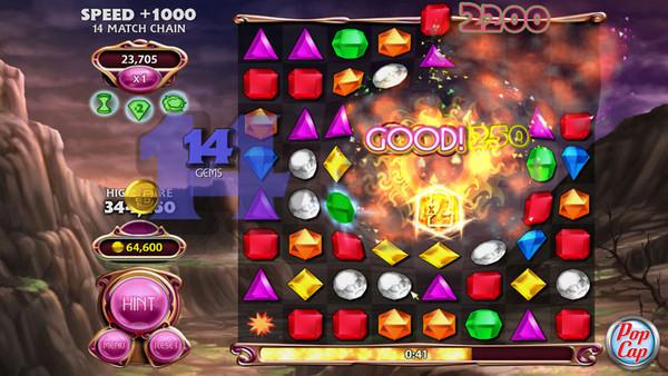 宝石迷阵4:闪电战(Bejeweled Blitz)硬盘版截图1