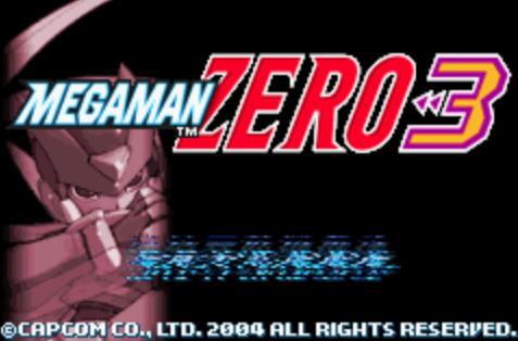 洛克人Zero3硬盘版截图0
