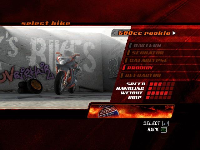 暴力摩托2006(Road Rash 2006)英文硬盘版截图1