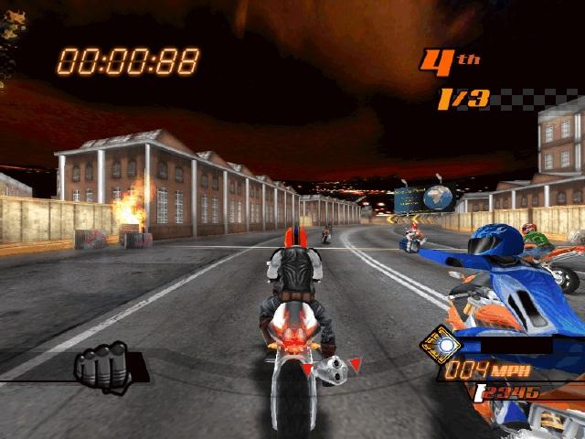 暴力摩托2006(Road Rash 2006)英文硬盘版截图2