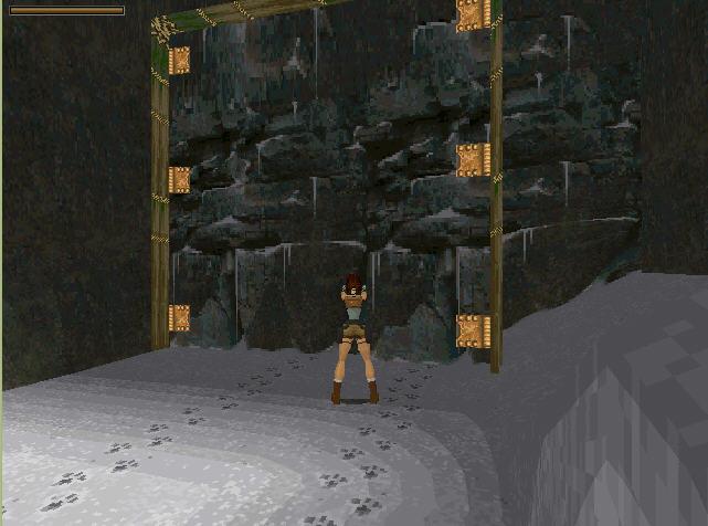 古墓丽影1(DOS)截图2