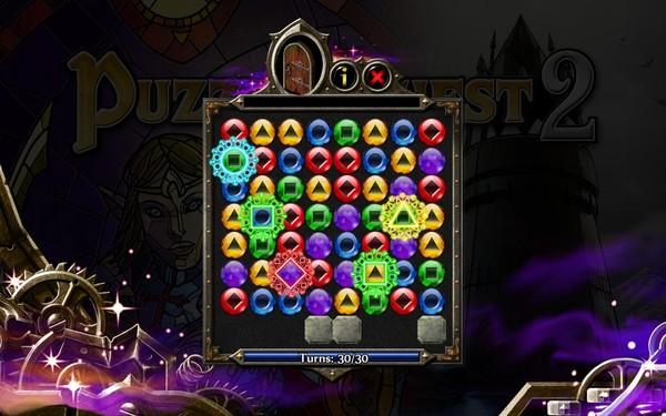 �鹕竦奶��2(Puzzle Quest 2)硬�P版截�D1