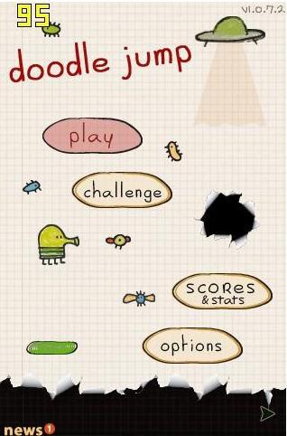 涂鸦跳跃(Doodle Jump)英文硬盘版截图0