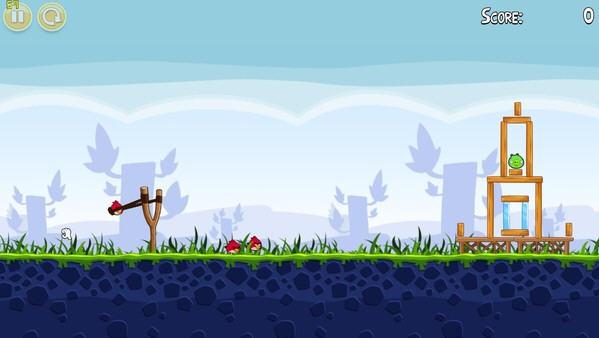 愤怒的小鸟(Angry Birds)简体中文硬盘版截图1