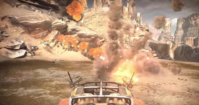 【游戏介绍】  《狂怒》是号称史上画面最漂亮之作,画面超精美,这是不图片