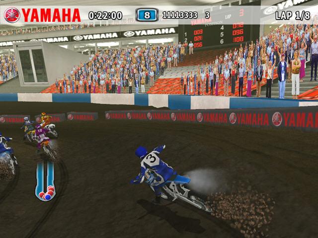 雅马哈越野摩托下载 yamaha supercross 完整硬盘版 游戏高清图片