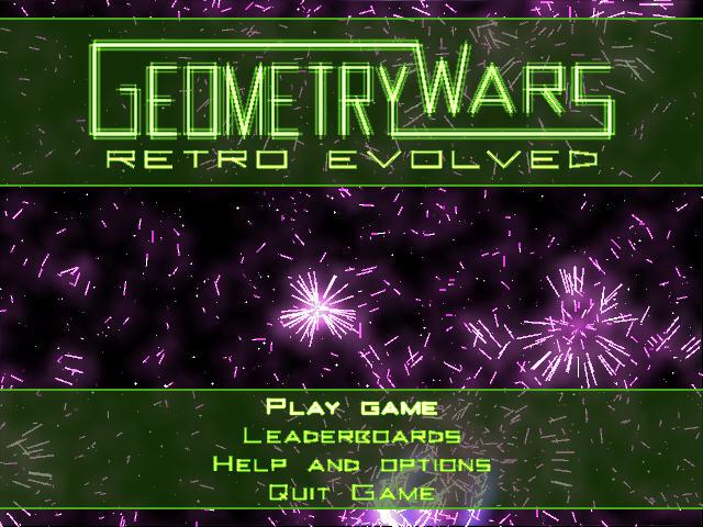 几何战争(Geometry Wars Retro Evolved)完整硬盘版截图1
