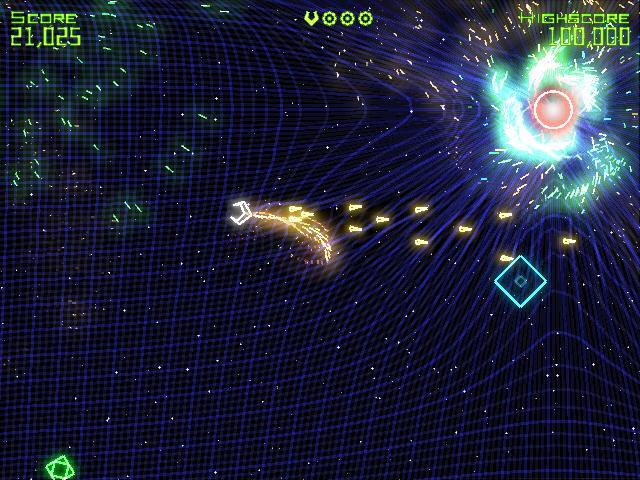 几何战争(Geometry Wars Retro Evolved)完整硬盘版截图2