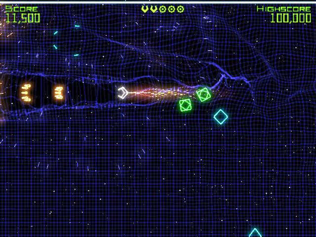 几何战争(Geometry Wars Retro Evolved)完整硬盘版截图4
