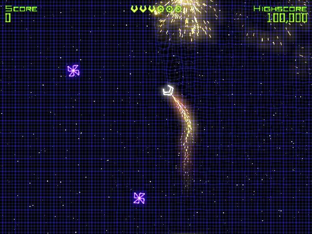 几何战争(Geometry Wars Retro Evolved)完整硬盘版截图6